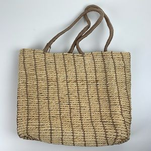 Old Navy Woven Straw Beach Bag